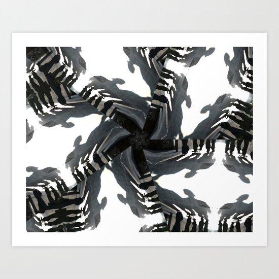 """...watch the world spinning..."" Art Print"