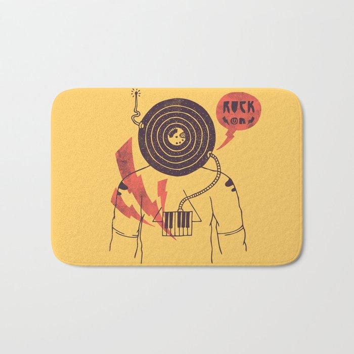The Vinyl Frontier (alternate) Bath Mat