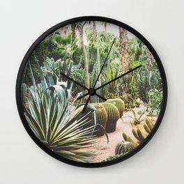 The Majorelle Garden Wall Clock