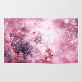 Pink Tarantuala Nebula Core Rug