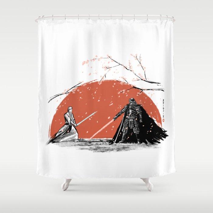 Sakura Showdown Shower Curtain