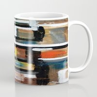 dirty dancing Mugs featuring DANCING by JANUARY FROST