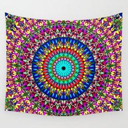 Magic Life Garden Mandala Wall Tapestry