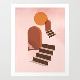 Hidden Cat 1 Art Print