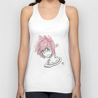 notebook Tank Tops featuring Matt Notebook Doodle by DJRB13
