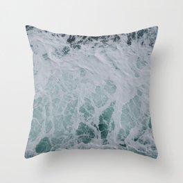Wonderful Waves Throw Pillow