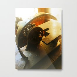 Vintage machine 7 Metal Print