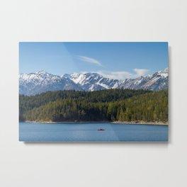 Eibsee Lake Metal Print