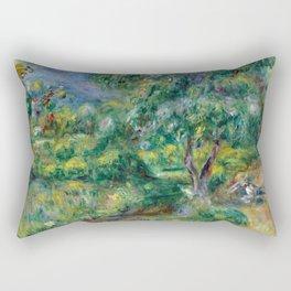 """Pierre-Auguste Renoir """"Le Béal"""" Rectangular Pillow"""