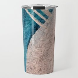Dark Grace [1]: an abstract watercolor by Alyssa Hamilton Art Travel Mug