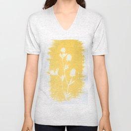 Herbal Sunprint #6 Unisex V-Neck