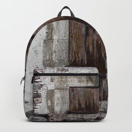 Wooden Window Backpack