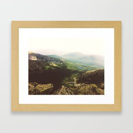 From the Top. Framed Art Print
