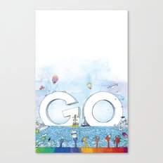 you're COLOR - Page 13 Canvas Print