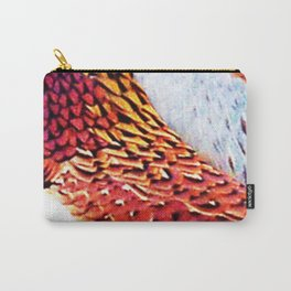 Pheasant Feathers Carry-All Pouch