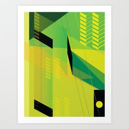 Hypnotzd Abstract 2 Art Print