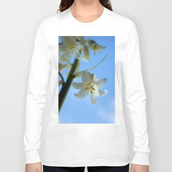 Albino Bluebells 2 Long Sleeve T-shirt
