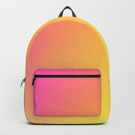 PEACH / Plain Soft Mood Color Blends / iPhone Case Backpack