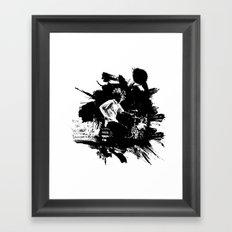 Zack de la Rocha Framed Art Print