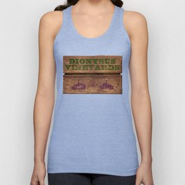 Dionysus Vineyards Unisex Tank Top