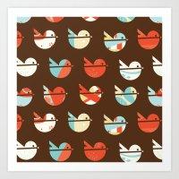 CR-Birds Art Print