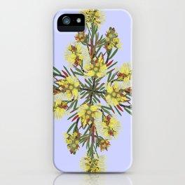 2941-Bottlebrush#1-P2-Mauve iPhone Case