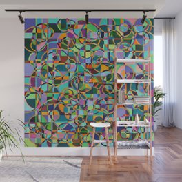 Emergence Refraction Wall Mural