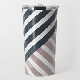 Marble Stripes I Travel Mug