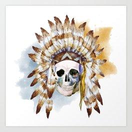 Skull 02 Art Print
