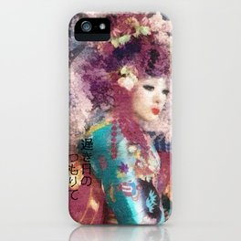 Days of Spring iPhone Case