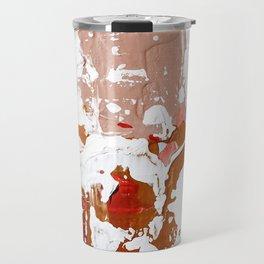 blush abstract. 02 Travel Mug