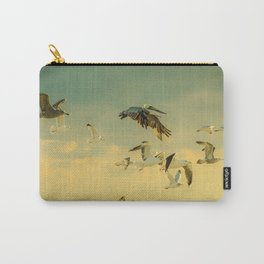 Flight Pattern Carry-All Pouch