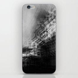 city in monochrome iPhone Skin