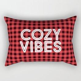 Cozy Vibes Rectangular Pillow