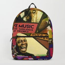 Vintage Harlem Renaissance Angels for the Arts Advertisement Poster Backpack