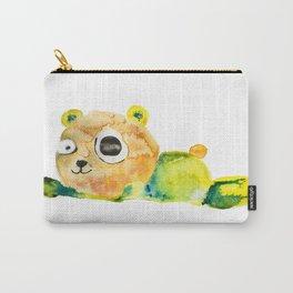 unconscious teddy bear Carry-All Pouch