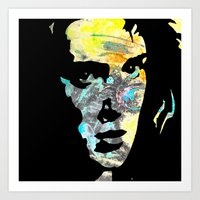 heathers Art Prints featuring Graffiti Ryder by Terrestre
