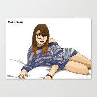 jasmine Canvas Prints featuring Jasmine by Doktorsour