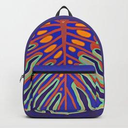 Monstera Flying to Summer Backpack