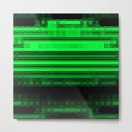 The Green Zone Metal Print
