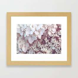 Flower photography by Olesia Misty Framed Art Print