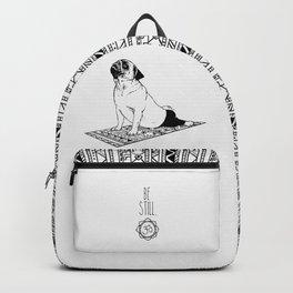 Be Still Pug Backpack