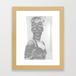 Sexy Abstact 53 Framed Art Print
