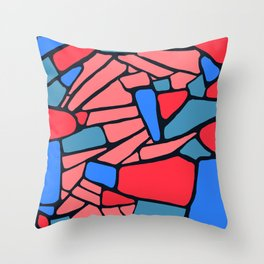 vitral Throw Pillow