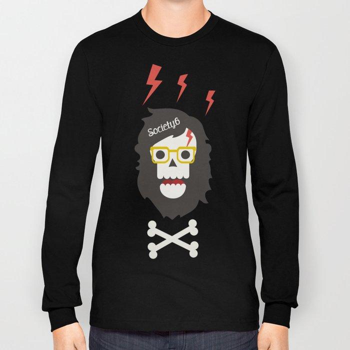 Society6 skull'n'bones Long Sleeve T-shirt