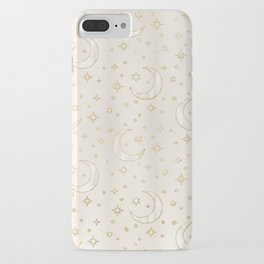 Celestial Pearl Moon & Stars iPhone Case