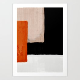 abstract minimal 14 Art Print