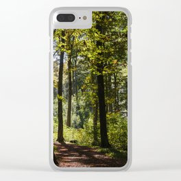 Woodland Mood Clear iPhone Case