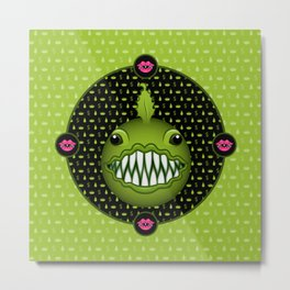 Chewlian - Monster High Pet Metal Print