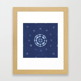 Kanoko Kumo Shibori Framed Art Print